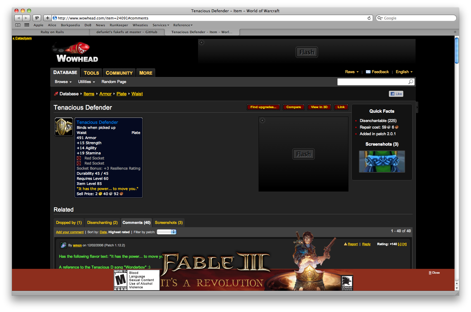 Irc Log For Wowhead On 20101011 Engineering Schematics Wow Jeeves I Was Trying To Read The Comments